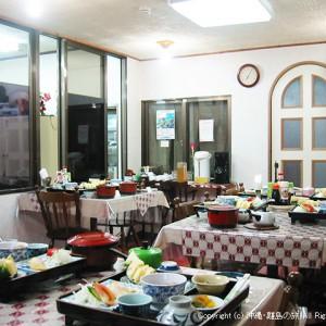 竹富島最終日、高那旅館の朝食