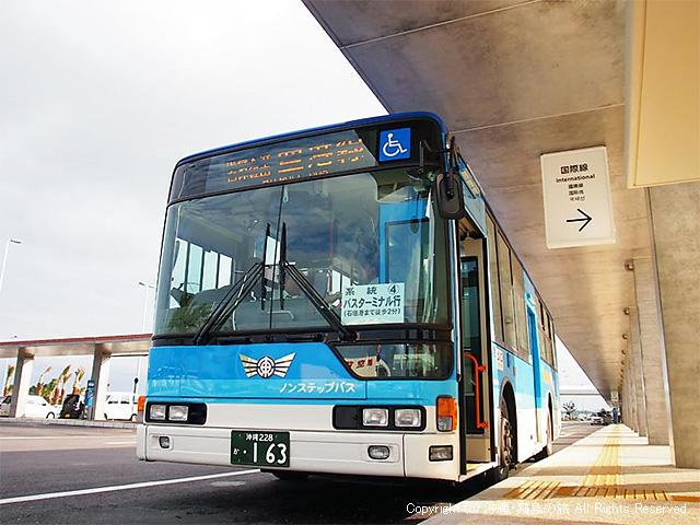 新石垣空港と離島ターミナルを結ぶ路線バス