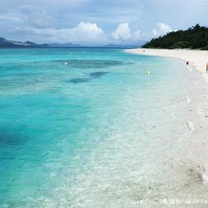 水納島の水納ビーチ