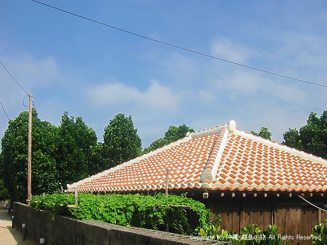 渡名喜島の古民家