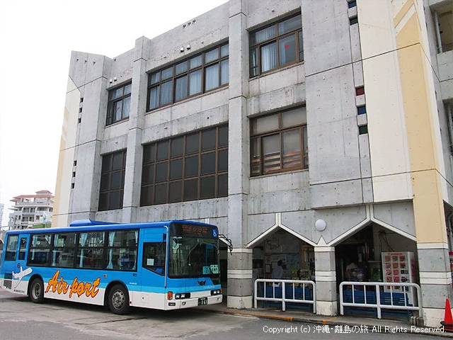 東運輸(株)のバスターミナル