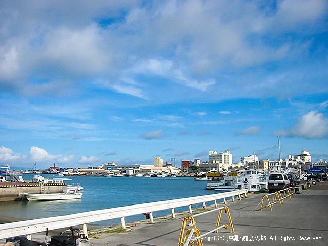 当時の港の様子