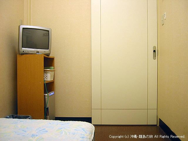 部屋(個室シングル)の様子