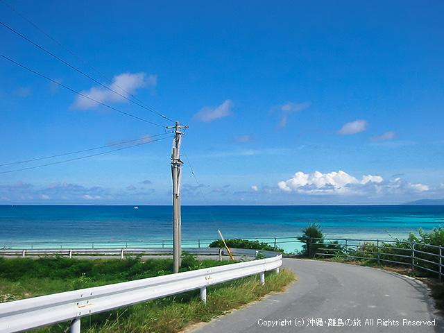 波照間島のニシハマビーチ