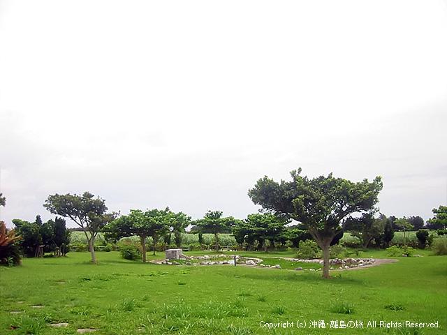 公園の敷地