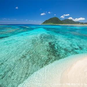 伊平屋島の米崎海岸西側