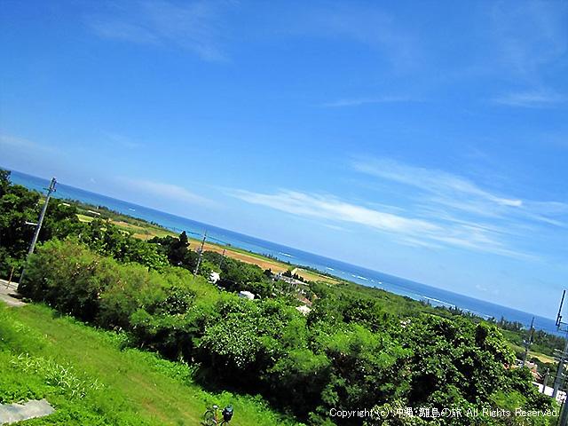 島の東側(クワーチン浜方向)