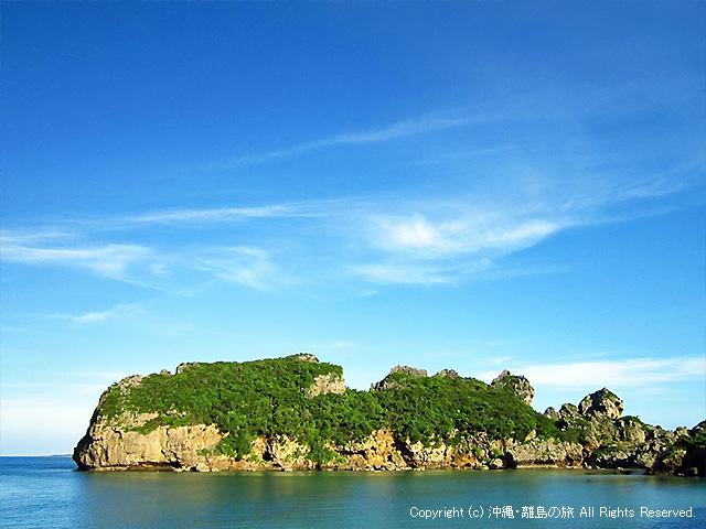 シルミチュー霊場そばのクバ島