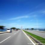 海中道路を安全運転でぶっ飛ばす(免責10万円)