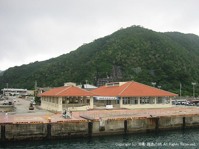 渡嘉敷島の港