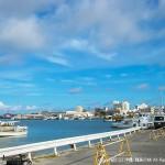 朝の石垣島離島ターミナル付近