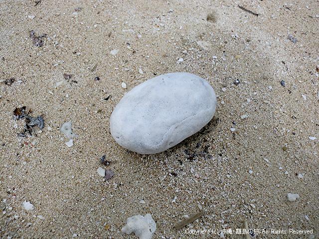 イシキ浜の石