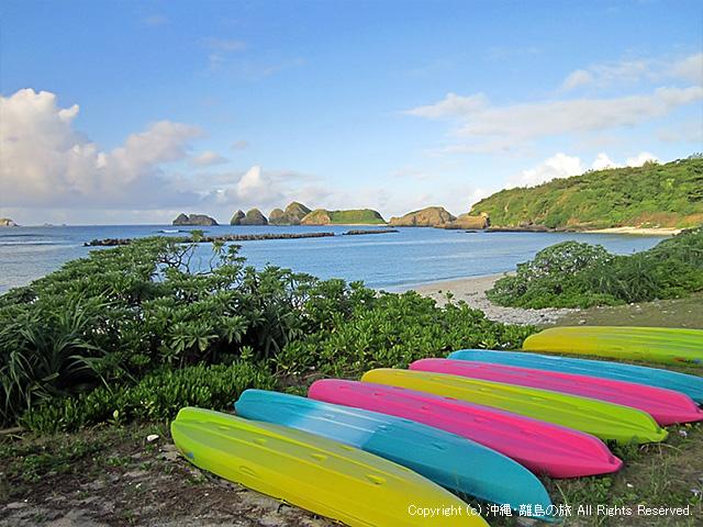 朝方の前浜ビーチ