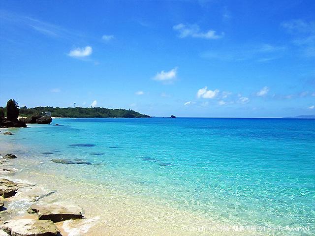 トゥマイ浜の北側