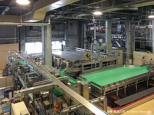 やっぱり工場広いな早くビール飲みたい(;´Д`)ハァハァ
