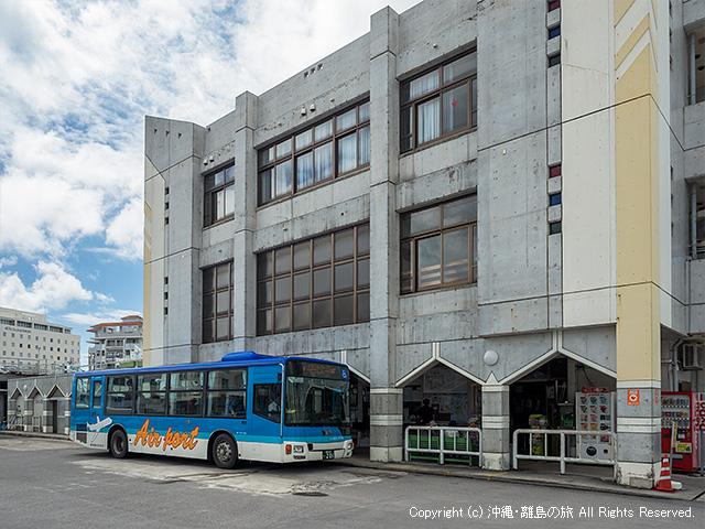 東運輸の石垣バスターミナル