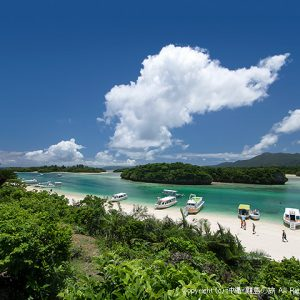 石垣島の絶景の一つ