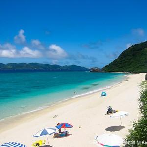 阿嘉島のニシバマビーチ