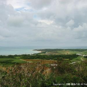 大岳(うふだき)展望台からの眺め