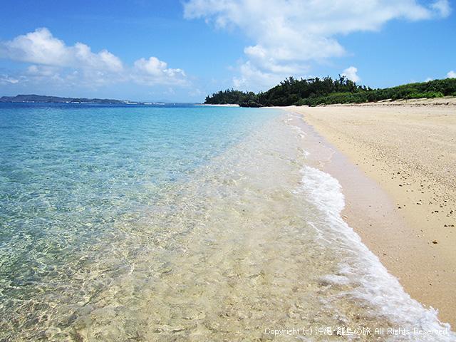 広いビーチは気持ちがいい