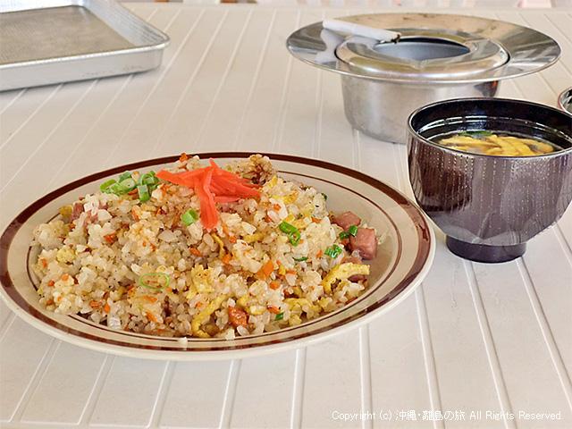 懐かしい味w の炒飯