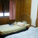 台風対策時の部屋の様子