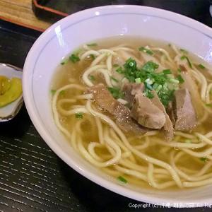 透き通るスープ、美味いっス(^^)♪