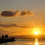 竹富島の西桟橋から