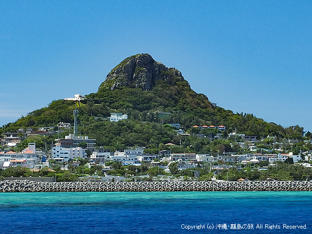 伊江島のたっちゅー(城山)