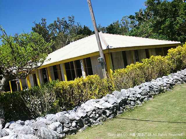 島唯一の民宿