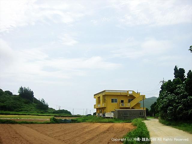 黄色い建物が目印でわかりやすい