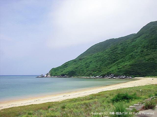さらにシューンと走ってアンジェーラ浜