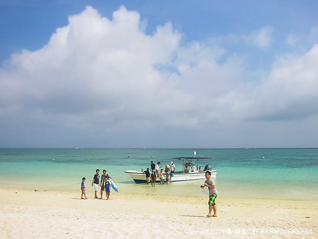 バードアイランドさんのハテの浜ツアー