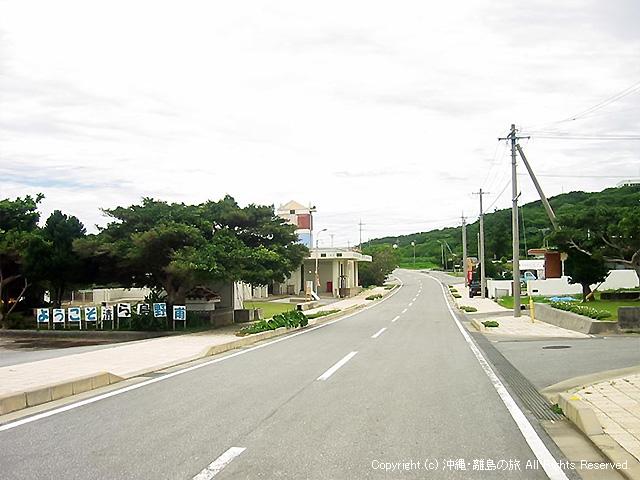野甫島の交通状況