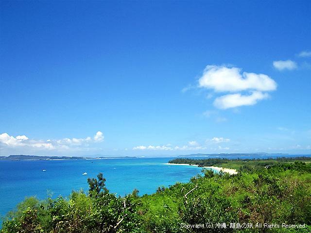 島の西側(トゥマイ浜方向)