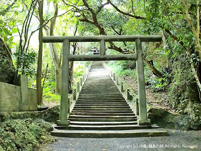 シルミチュー霊場入口の階段(2010年8月撮影)
