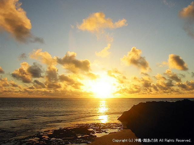カベール岬の日の出