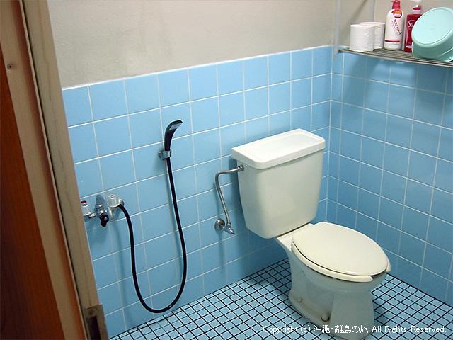 シャワーとトイレ付き