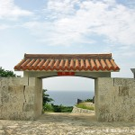 洞寺の入口