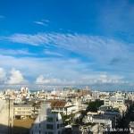 東横イン那覇旭橋駅前からの眺め