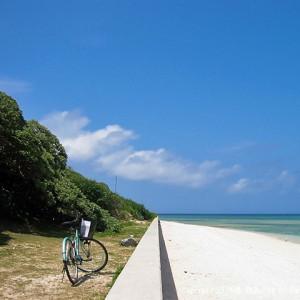 広めのビーチ