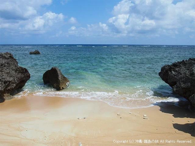 小さなサイズのビーチ