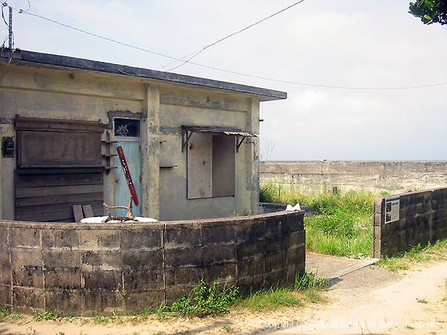 映画の中で居酒屋「南風原」として利用された建物
