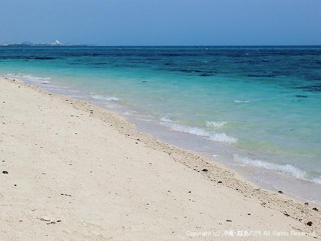竹富島の東側にあるビーチだ