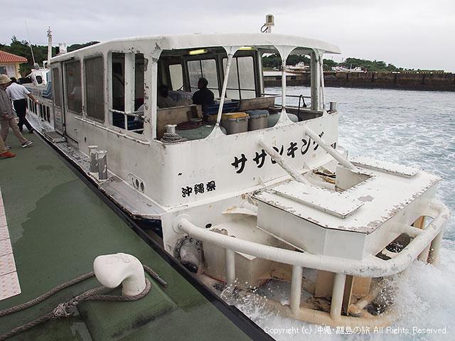 この船は今も現役かな?