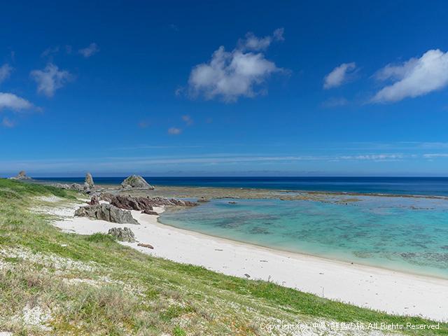 沖縄県最北端から2番目のビーチ