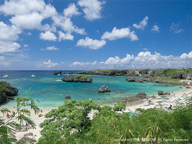 中の島ビーチが大ブレイク