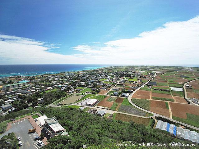 伊江島の集落