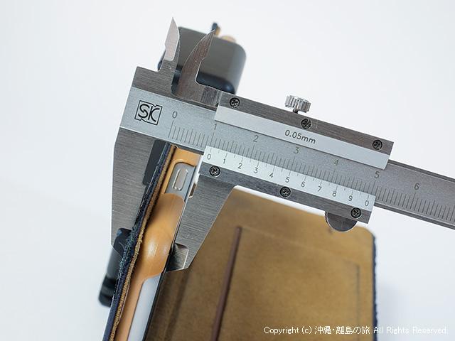 ケース装着状態の厚みは10.45mm