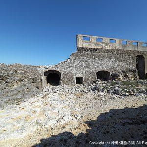北大東島といえば燐鉱石貯蔵庫跡